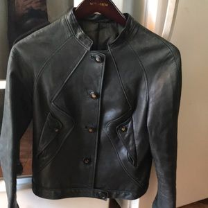 Valentino vintage leather jacket